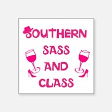 Southern Sass and Class Sticker