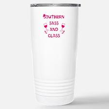 Southern Sass and Class Travel Mug