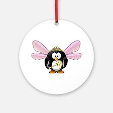 Fairy Penguin Ornament (Round)
