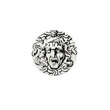 Medusa Mini Button (10 pack)