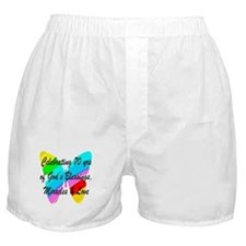 GOD LOVING 70TH Boxer Shorts
