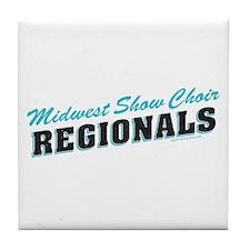 Glee Regionals Retro Tile Coaster