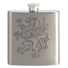 Cute Griffin Flask