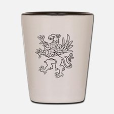 Funny Griffin Shot Glass
