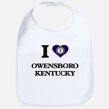I love Owensboro Kentucky Bib