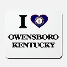 I love Owensboro Kentucky Mousepad