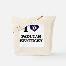 I love Paducah Kentucky Tote Bag