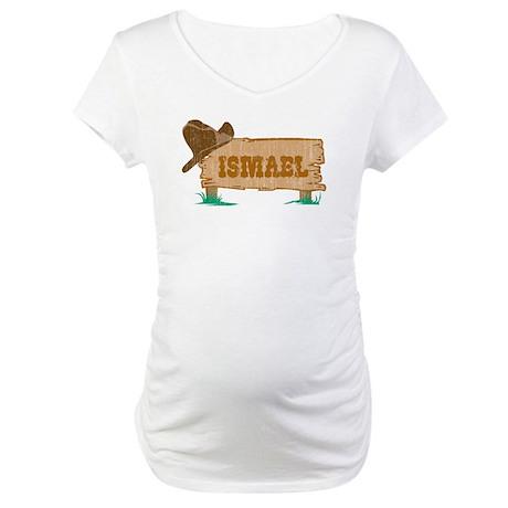 Ismael western Maternity T-Shirt