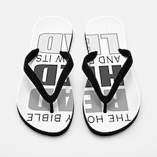 Christian bible leader Flip Flops