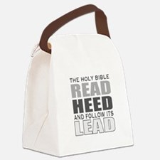 Christian bible leader Canvas Lunch Bag