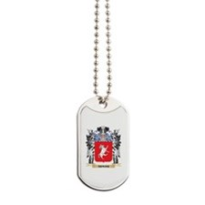 Armani Coat of Arms - Family Crest Dog Tags