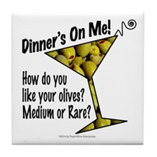 DINNER'S ON ME - How Do You Like Your Olives? Medi
