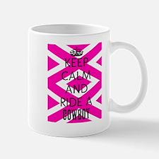 Keep Calm and Ride A Cowboy Mugs