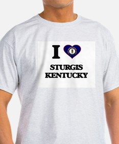 I love Sturgis Kentucky T-Shirt