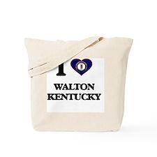 I love Walton Kentucky Tote Bag
