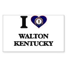 I love Walton Kentucky Decal