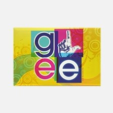 Glee Colorful Rectangle Magnet
