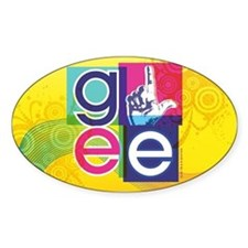 Glee Colorful Decal
