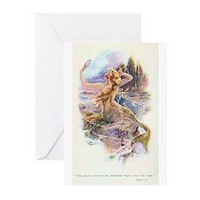 mermaids Greeting Cards