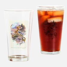 mermaids Drinking Glass
