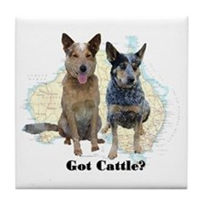Got Cattle? Tile Coaster