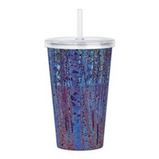 Beech Forest by Gustav Acrylic Double-wall Tumbler