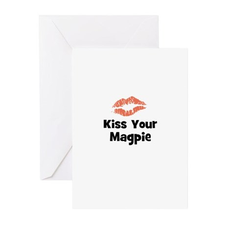 Kiss Your Magpie Greeting Cards (Pk of 10)