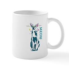 Oriental cat meow Mugs