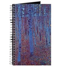 Beech Forest by Gustav Klimt, Vintage Art Journal