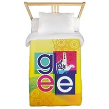 Glee Colorful Twin Duvet