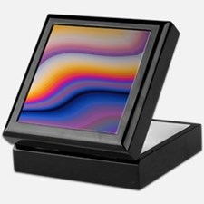 Beautiful Colorful Abstract Fractal A Keepsake Box