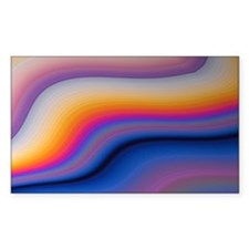 Beautiful Colorful Abstract Fr Decal