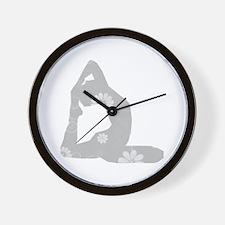 Yoga Pose Wall Clock
