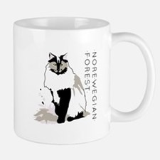 Norwegian forest cat Mugs