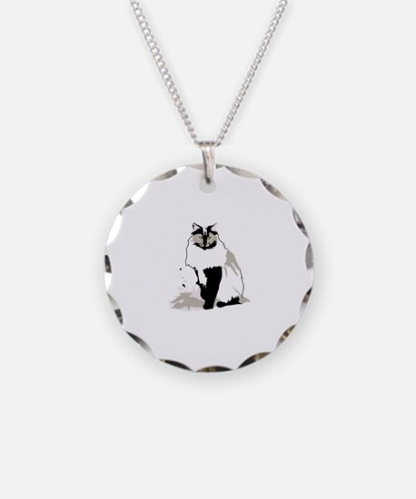 Norwegian forest cat Necklace
