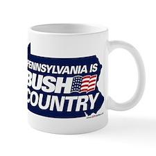 PA is BUSH Country Mug
