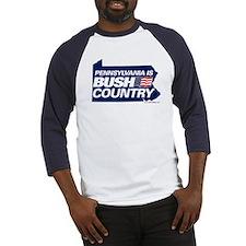 PA is BUSH Country Baseball Jersey