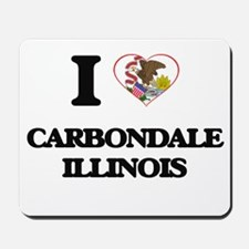 I love Carbondale Illinois Mousepad