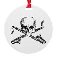Bass Clarinet - Basset Horn Pirate Ornament