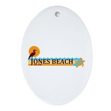 Jones Beach - New York. Ornament (Oval)