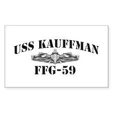 USS KAUFFMAN Decal