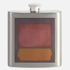 ROTHKO ORANGE RED PURPLE Flask