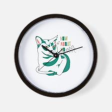 Burmese cat how about no Wall Clock