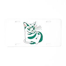 Burmese cat Aluminum License Plate
