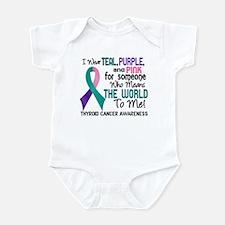 Thyroid Cancer MeansWorldToMe2 Infant Bodysuit