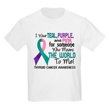 Thyroid Cancer MeansWorldToMe2 T-Shirt