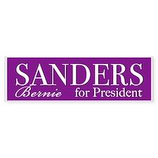 Bernie Sanders for President Bumper Bumper Sticker