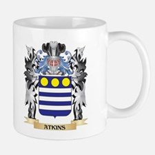 Atkins Coat of Arms - Family Crest Mugs