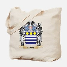 Atkins Coat of Arms - Family Crest Tote Bag