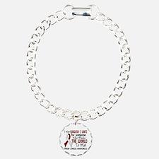 Throat Cancer MeansWorld Bracelet